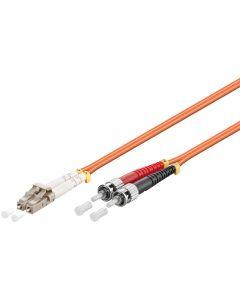 Glasvezel kabel LC-ST OM2 (laser optimized) 20 m
