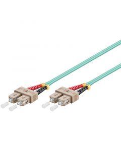 Glasvezel kabel SC-SC OM3 (laser optimized) 0.5 m