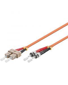 Glasvezel kabel SC-ST OM2 (laser optimized) 2 m