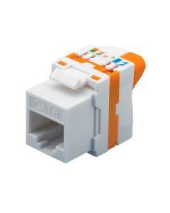 CAT6 UTP Keystone Connector - Toolless Twist
