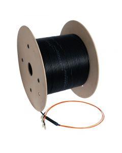 OM4 glasvezel kabel op maat 4 vezels incl. connectoren