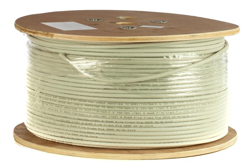 Afbeelding van DANICOM CAT6A S/FTP 305m op rol soepel - PVC (Fca)