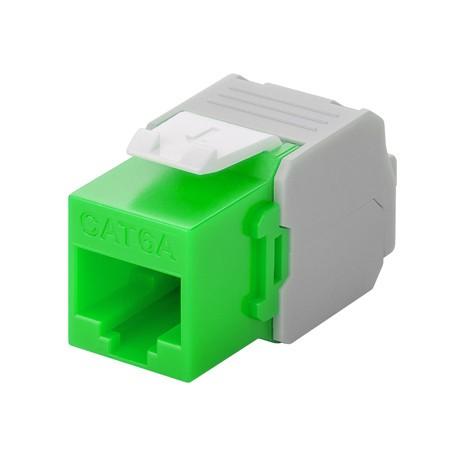 Afbeelding van CAT6a UTP Keystone Connector - LSA - Groen