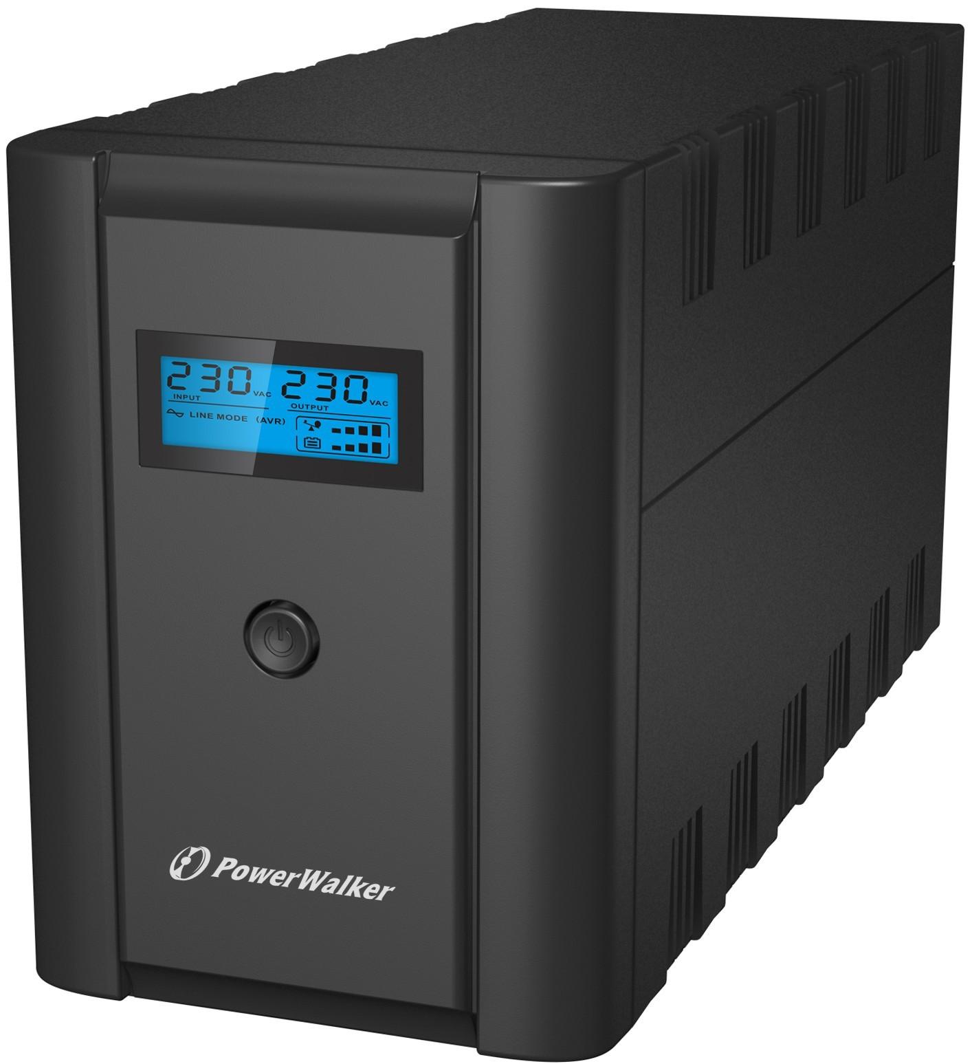 Afbeelding van PowerWalker Line-Interactive 2200VA-L UPS
