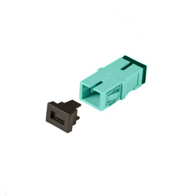Afbeelding van Multimode keystone koppeling SC-SC simplex turquise