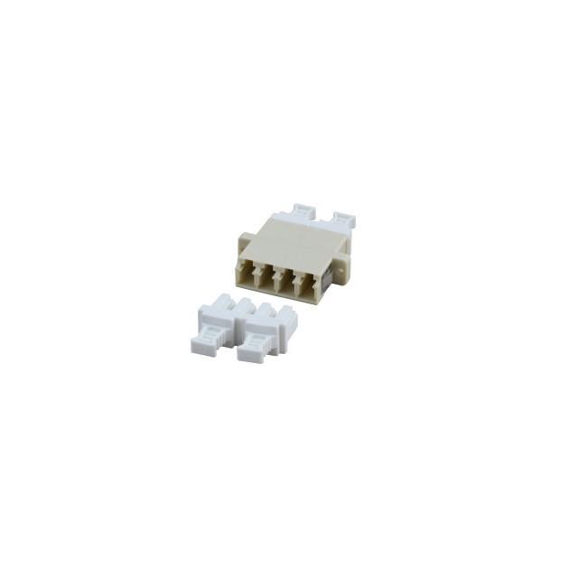 Afbeelding van Multimode koppeling 4-voudig LC-LC quad beige