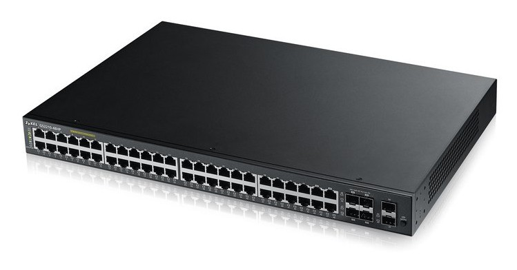 Afbeelding van Zyxel 48-poorts GS2210 managed PoE+ switch